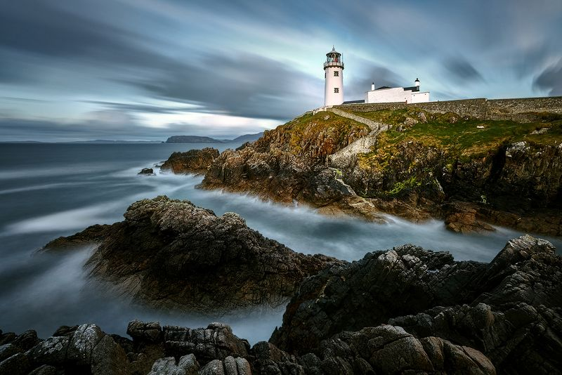 White Lighthouse, Fanad Head, County Donegal, North Ireland Fanad Headphoto preview