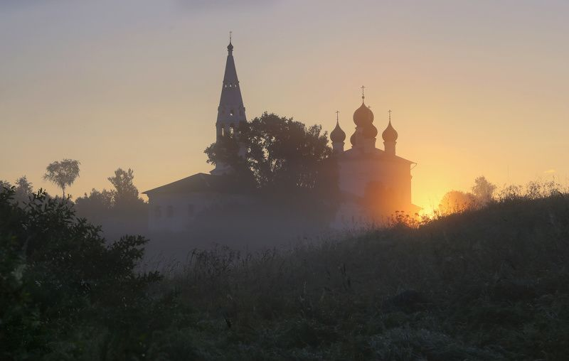 осенево, ярославская область В рассветный часphoto preview