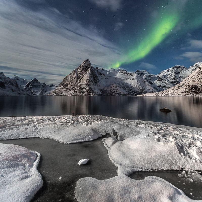 aurora,norway,winter ...photo preview
