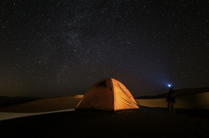 Desert lightphoto preview