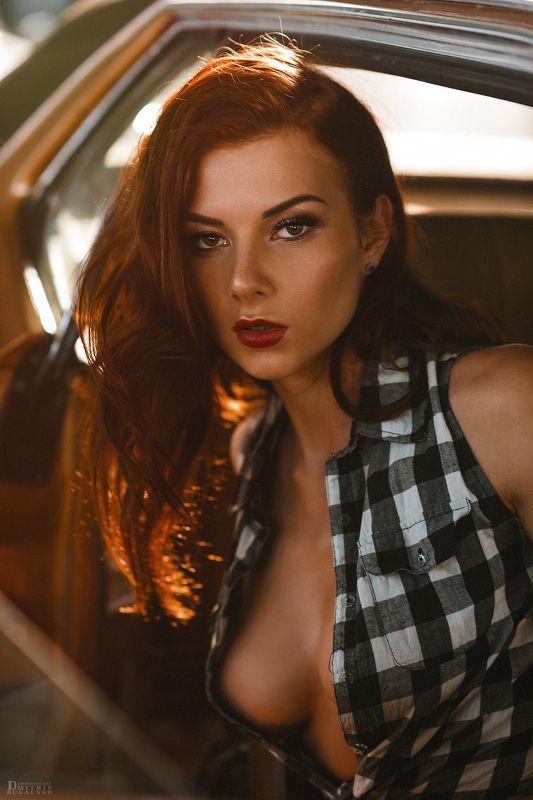 портрет, лето, солнце, пленер, никон, форд Ингаphoto preview