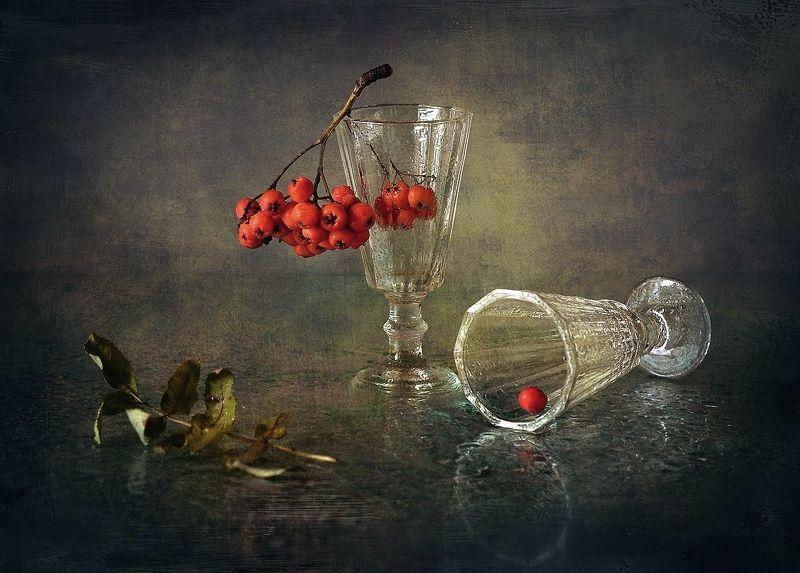 натюрморт,рябина,осень осенний блюз...photo preview