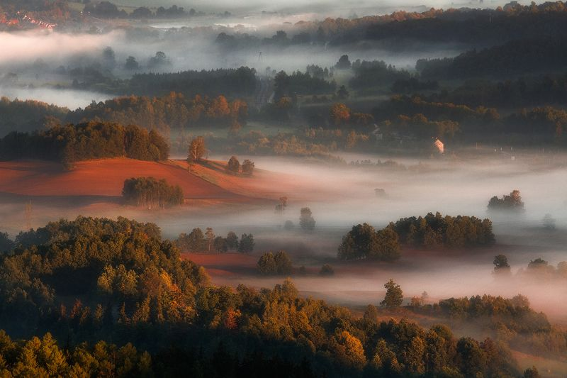 landscape,canon,mist,light,summer The Miracle of Midsummer.photo preview