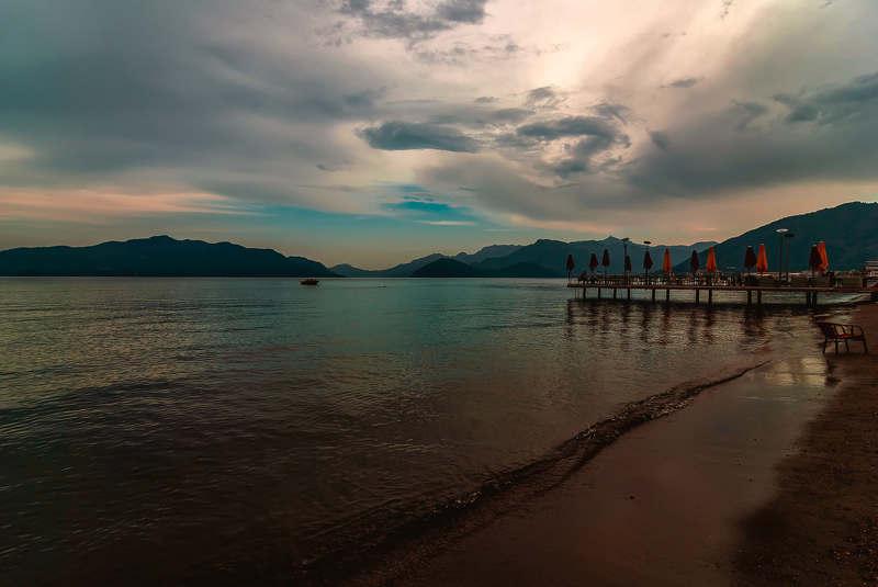 Вечер. Море.photo preview