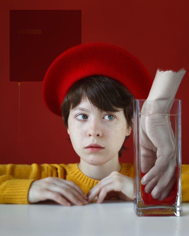 арт, девушка, портрет, студия, свет Анри. Коррупцияphoto preview
