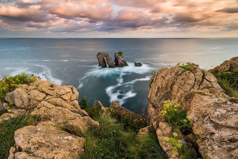 испания, океан, рассвет Playa de La Arníaphoto preview
