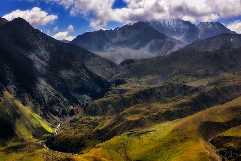 кавказ, дорога, погода Урочище Джилы-Суphoto preview