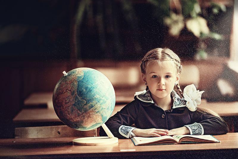 дети школа ретро Снова в школуphoto preview