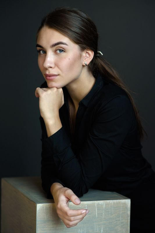 portrait, портрет, Nikon, 85mm, Никон Ксенияphoto preview