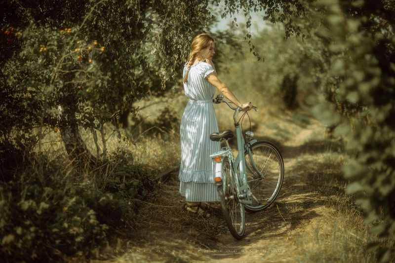 anne of green gables path beautiful nature magic dranikowski bicycle talle rower girl woman Anne of Green Gablesphoto preview