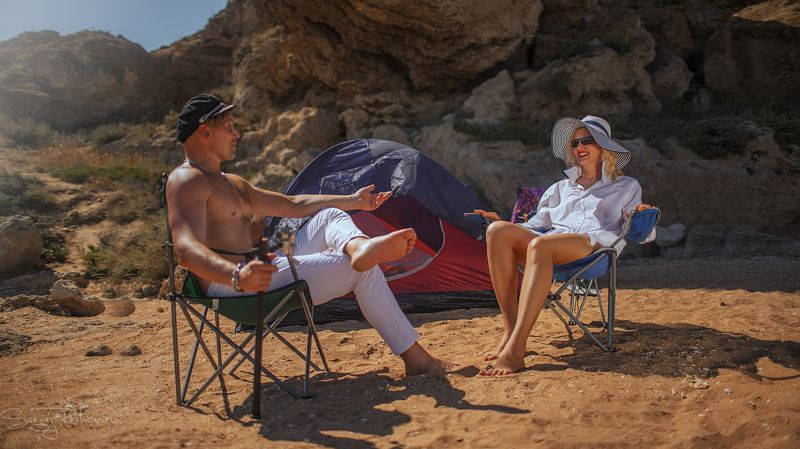 крым, азовское море, солнечно, красота, секси, гламур Крымские каникулыphoto preview