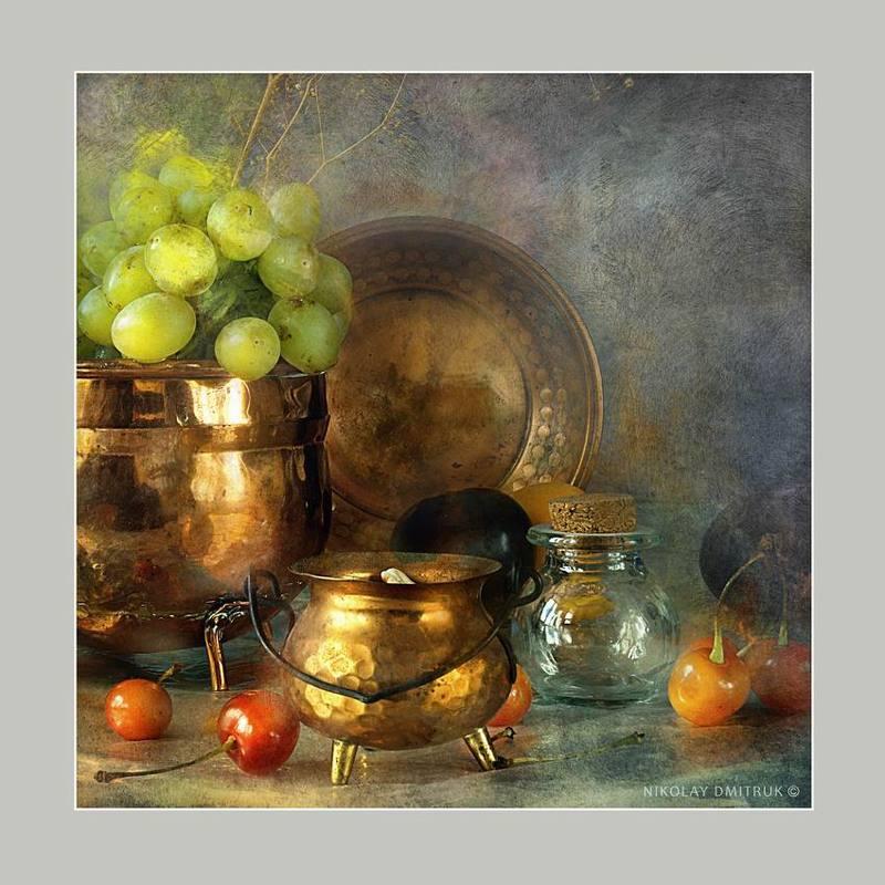 натюрморт виноград 2photo preview