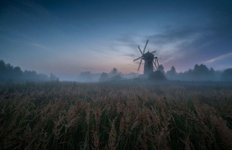 пейзаж, истра, рассвет, туман, утро, россия, природа, Вотчина Дон Кихотаphoto preview