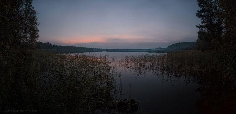вечер на озере Сеза...photo preview