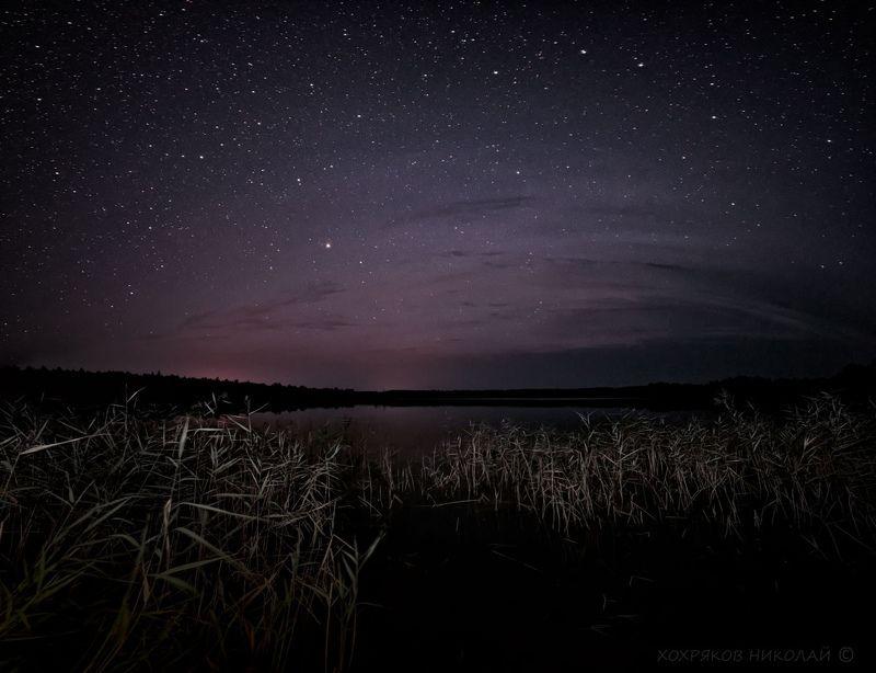 ночь на озере Сеза...photo preview