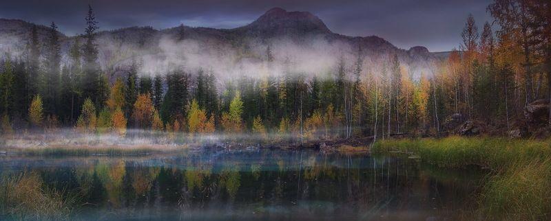 алтай, природа, туман, пейзаж, путешествие, осень Осень на \