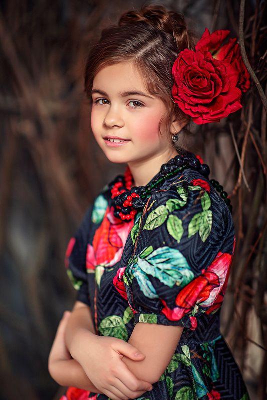 девочка портрет кармэн Кармэнphoto preview