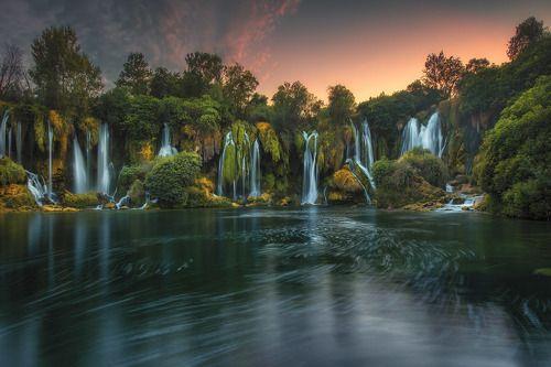 Waterfalls in Bosnia and Herzegovina