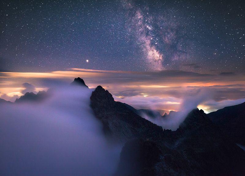 Tatras in the nightphoto preview