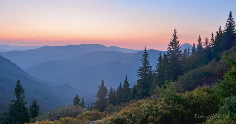 карпаты, горы, мармаросы, утро, рассвет, восход Рассвет над Мармаросамиphoto preview