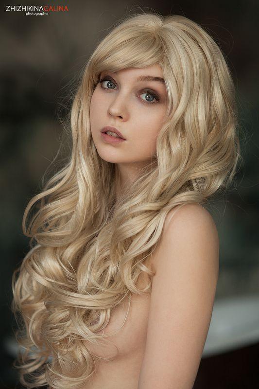 девушка, портрет, лицо, блондинка, взгляд, фото, фотография, фотограф, москва, красивая, Ундинаphoto preview