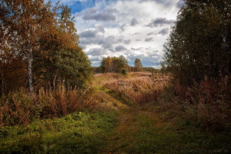 осень в краю вепсов...photo preview