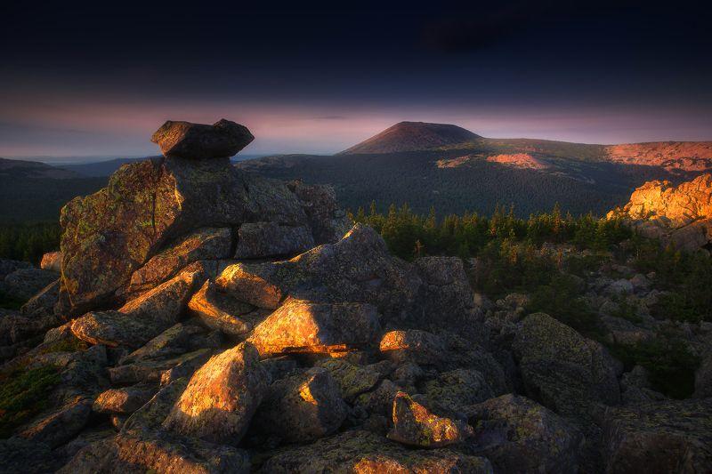 урал, горы, иремель, сукташ Стражи горы Иремельphoto preview