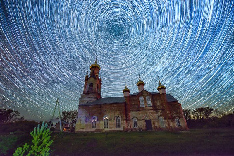 треки, звезды, шадринск, shadrinsk, stars, startrails, trails Будни вечностиphoto preview