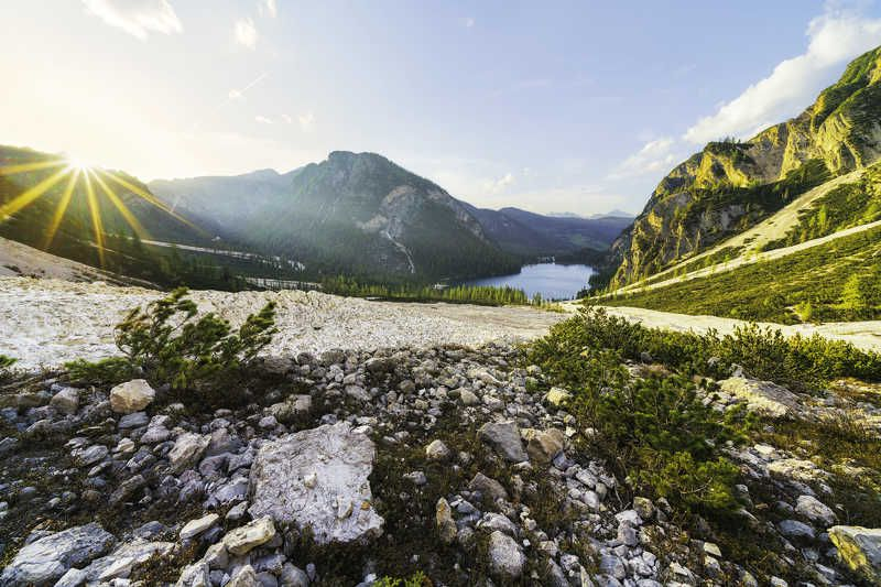 Lago di Braiesphoto preview