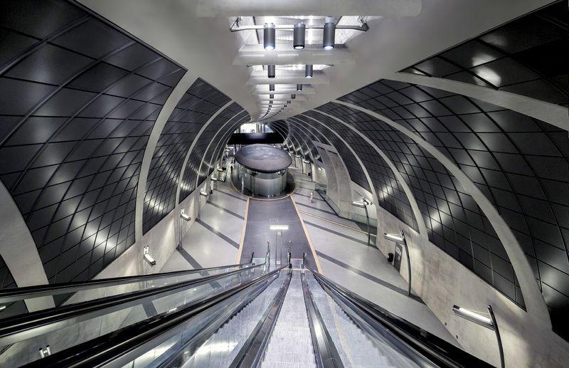 германия, кёльн, метро, deutschland, köln, u-bahn Геометрия иллюзииphoto preview