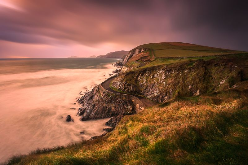 Slea Head, Ireland, Dingle, Kerry, Galway, Longexposure, Sunrise, Sunset, Clouds Slea Headphoto preview
