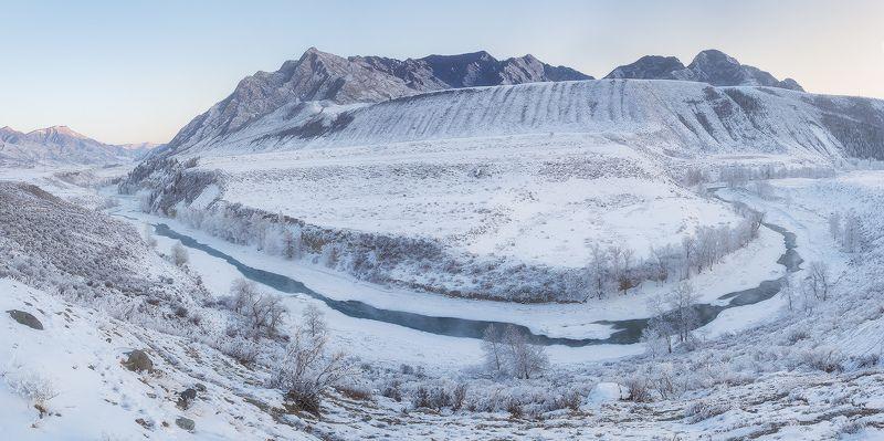 ...Зимняя река...photo preview