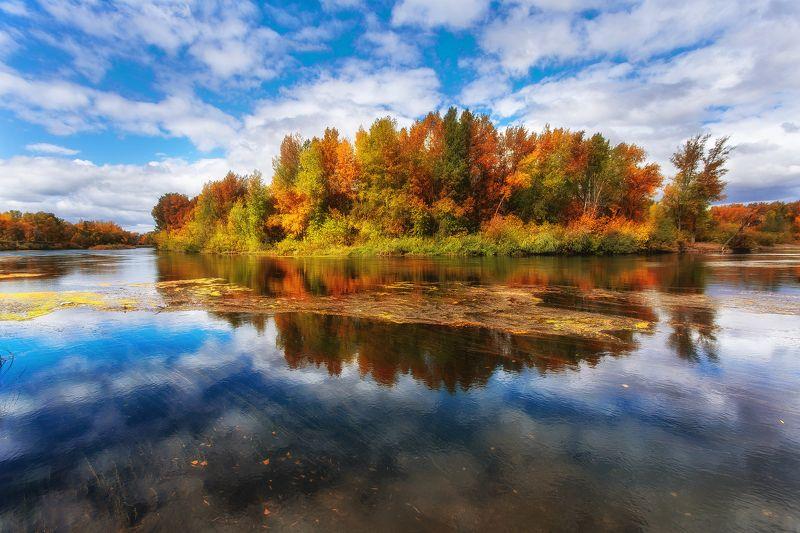 россия,орск,пейзажи,урал,оренбуржье Краски осениphoto preview