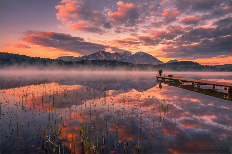Morgens beim Turnersee in Kärnten.photo preview