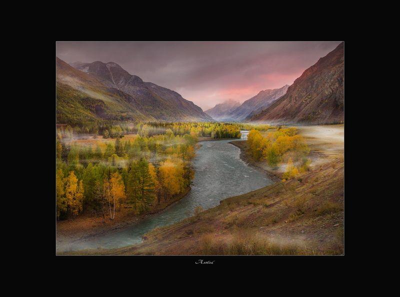 алтай, природа, снег, пейзаж, дорога, путешествие Сотворчество природы и фотографа!photo preview