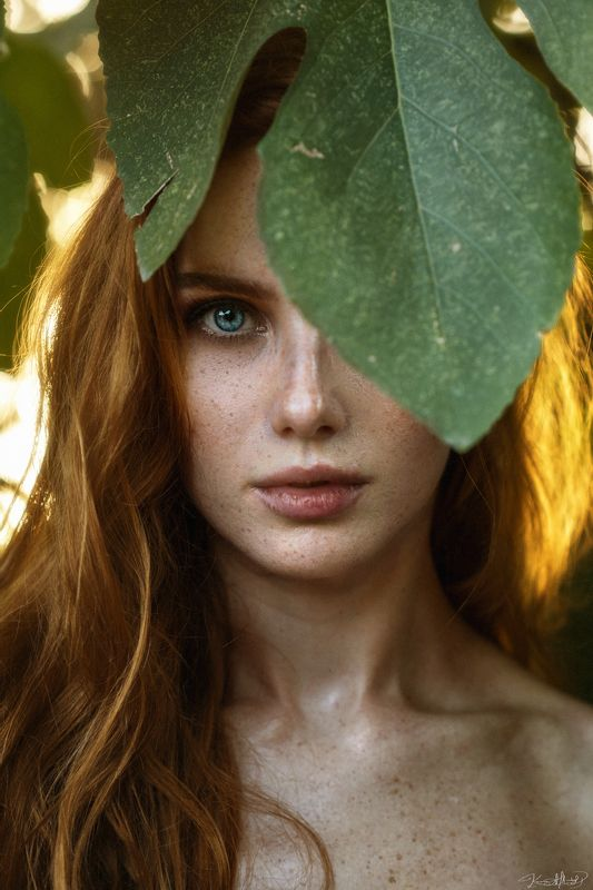 portrait, art, 85mm, eye, beauty, sunset, natural light, nikon, beautiful, freckles, ginger, colors Christinephoto preview