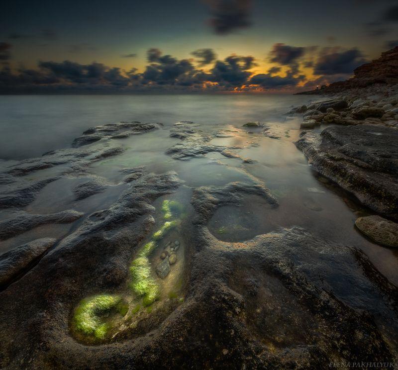крым,россия,море,длинная выдержка,вечер,пейзаж,фототур,путешествие,севастополь,треккинг,закат,природа Оноphoto preview