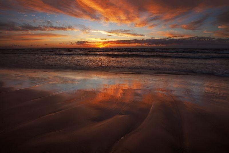 усть-нарва, пейзаж, море, закат, цвет, ключенков Усть-Нарваphoto preview