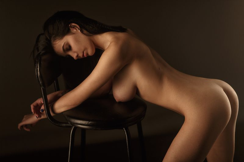 art, artnude, beautiful, girl, light, nu, nude, sexy, studio, sweet, woman, ню, девушка, модель, ню, портрет, portrait Backphoto preview