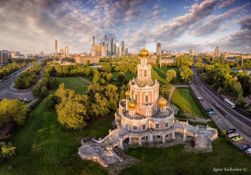 Церковь Покрова, Фили, Москва, Church of the Intercession, Fili, Moscow Церковь Покрова в Филяхphoto preview