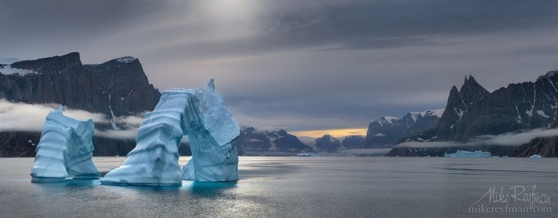 greenland, iceberg, scoresby sound Scoresby Soundphoto preview