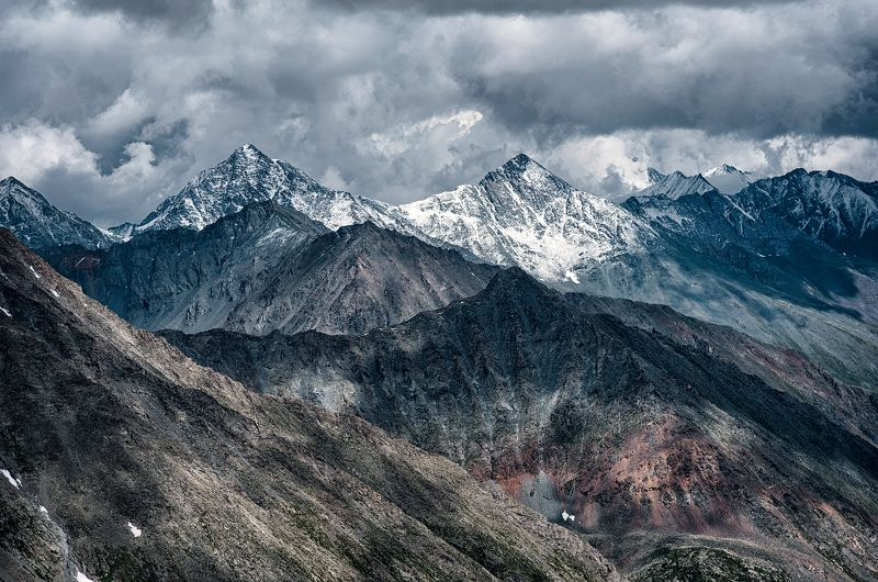 пейзаж, алтай, россия, природа, горы, landscape, mountains Ледник Менсу, Алтайphoto preview