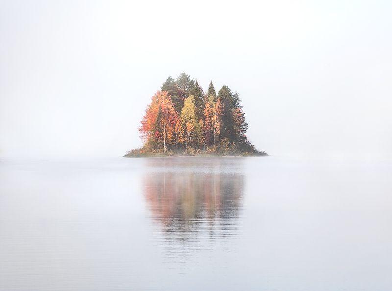 Осеннее парение под солнцем.photo preview