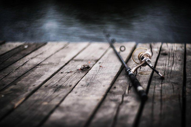fishing удочка рыбалка водоем пруд боке Stick.photo preview