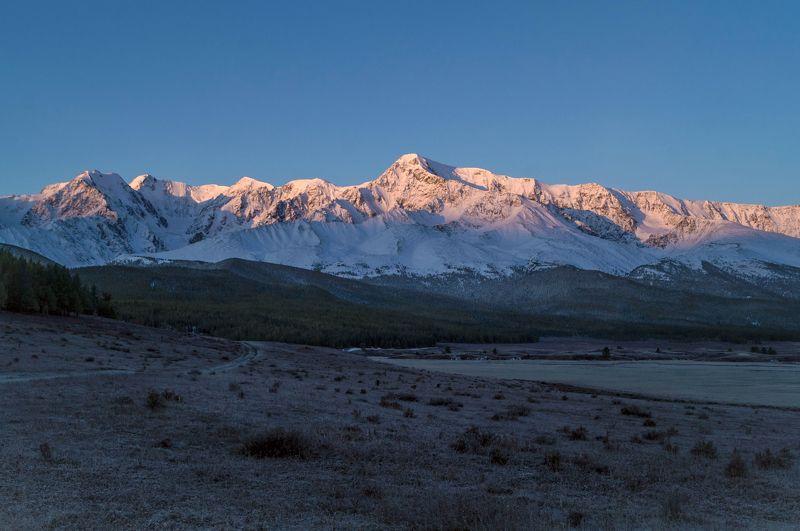 природа  алтай озеро  горы пейзаж путешествие осень ештыкель тени Рассвет на Ештыколе...photo preview