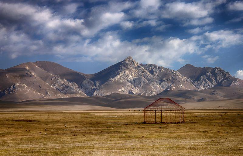 кыргызстан, горы, сон-куль Сезон закрытphoto preview
