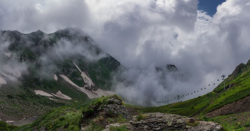 На вершинах гор Кавказскихphoto preview