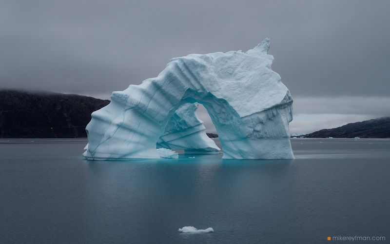 scoresby sound, eastyern greenland, worldphototravels.com, iceberg Большой и Маленькийphoto preview