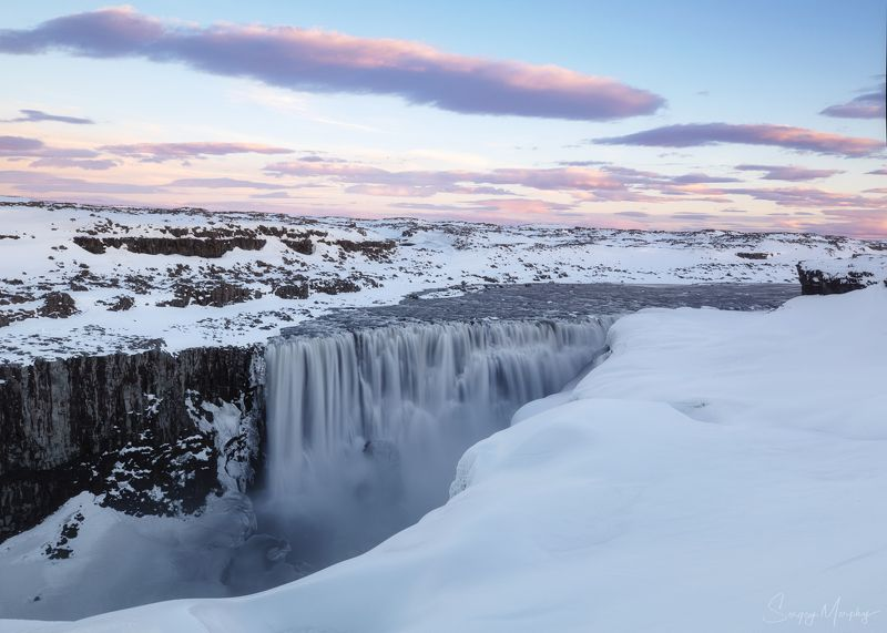 detifoss, waterfall, iceland Dettifoss waterfall at winter time. Iceland.photo preview