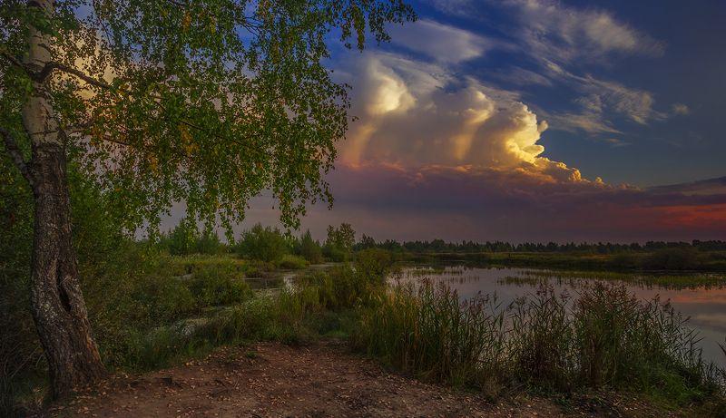 пейзаж,озеро,вечер Вечерphoto preview